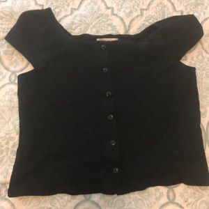 Madewell size small black top
